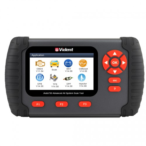 Vident iAuto730 All Systems OBDI/OBDII Scan Tool