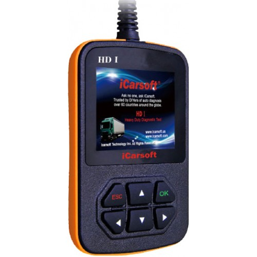 iCarsoft Heavy Duty Truck Diagnostic Tool
