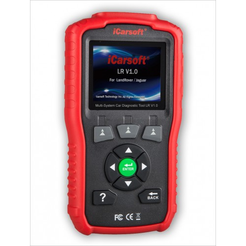 iCarsoft LR v1.0 Land Rover/Jaguar Diagnostic Scan Tool